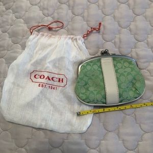 Coach nwot change purse